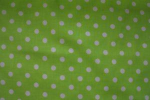 zielone grochy
