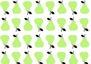 gruszki zielone
