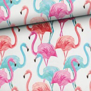 flamingi pastelowe