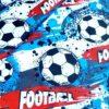 Kołdra sensoryczna dla małych fanów piłki nożnej