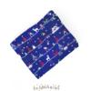 Niebieska kołderka obciążeniowa z świątecznym motywem