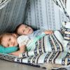 Tipi Namiot wigwam dla dzieci Boho - cotton eco